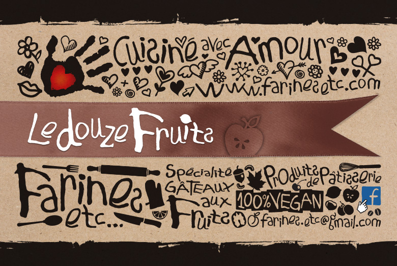 banderole le douze fruits